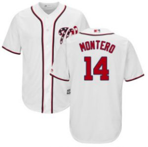 nationals-14-miguel-montero-white-cool-base-stitched-youth-mlb-jersey